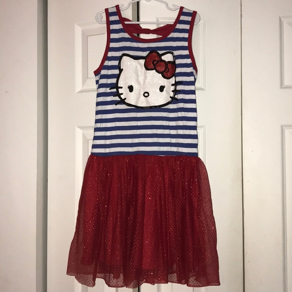 fe107538e Hello Kitty Other - Girls Hello Kitty dress sz 10/12